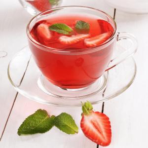 Thé fraise