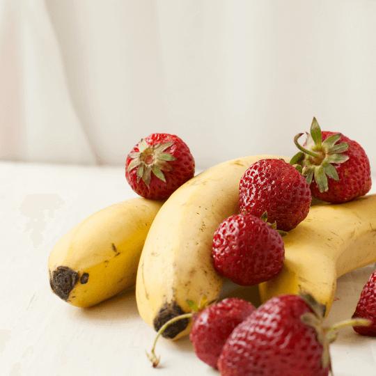 Thé fraise banane