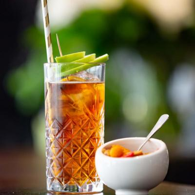 Cocktail a la pomme