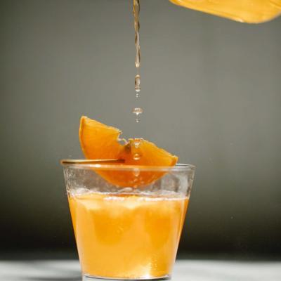 Cocktail the citron cognac