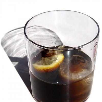 Cocktail the noir et cola