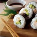 Recette de Sushi au thé vert