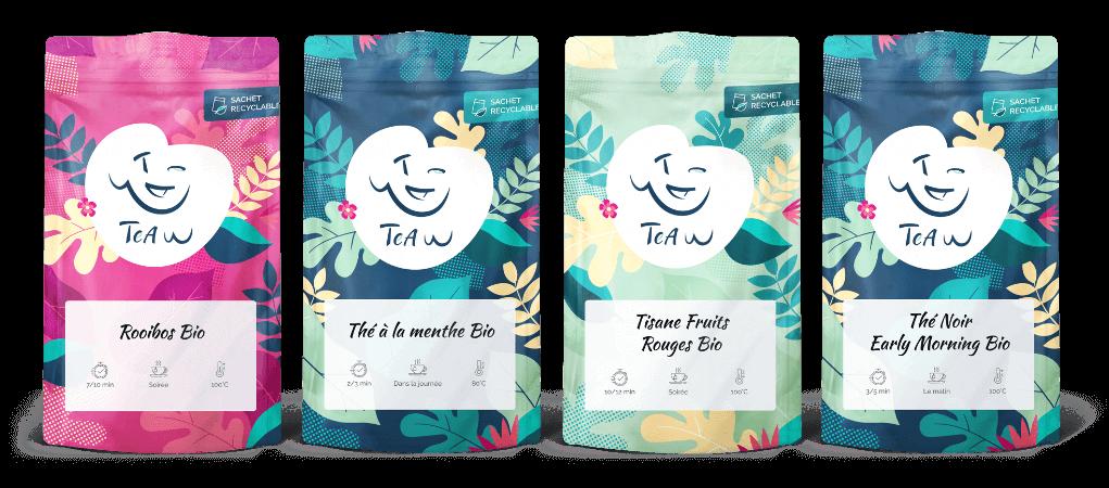Pack découverte de thés bio