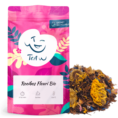 Pack thés et Rooibos fleuris Bio