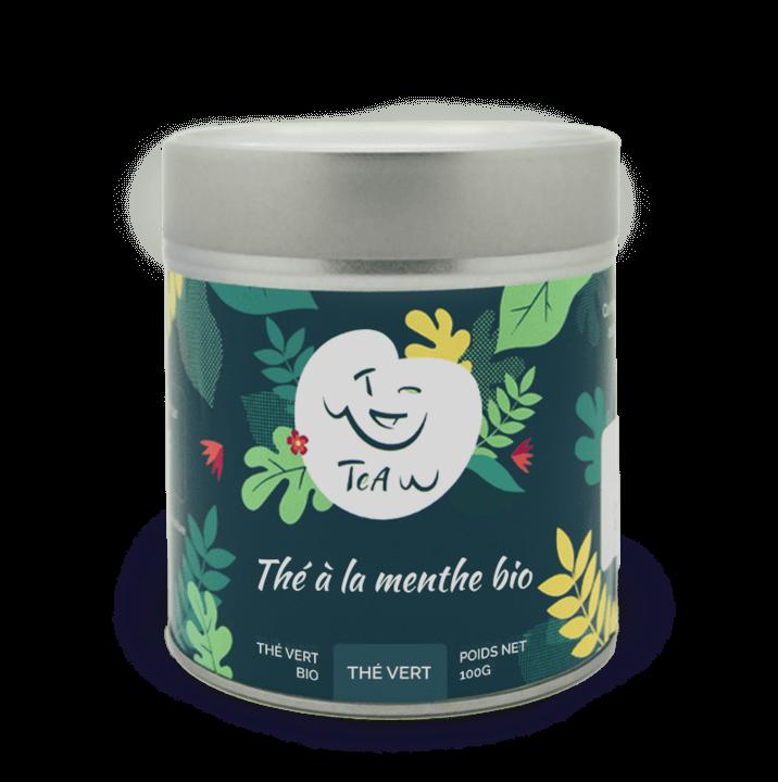 The vert menthe boite fer 720