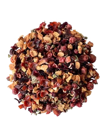 Tisane fruit rouge